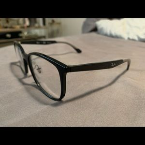 Authentic rayban reading glasses - black and grey